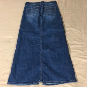 Gap 1969 Blue Jean Skirt